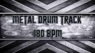 Metal Drum Track 180 BPM (HQ,HD)