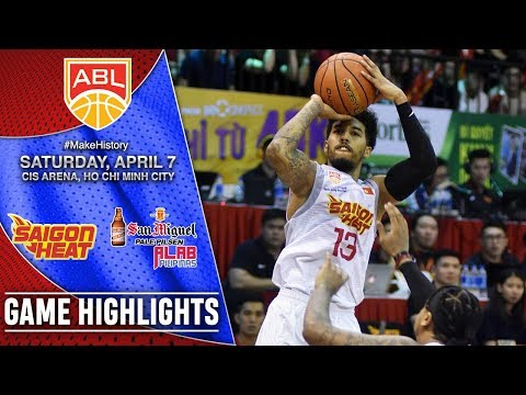 HIGHLIGHTS: Alab Pilipinas vs. Saigon Heat (VIDEO) QF Game 2 | April 7