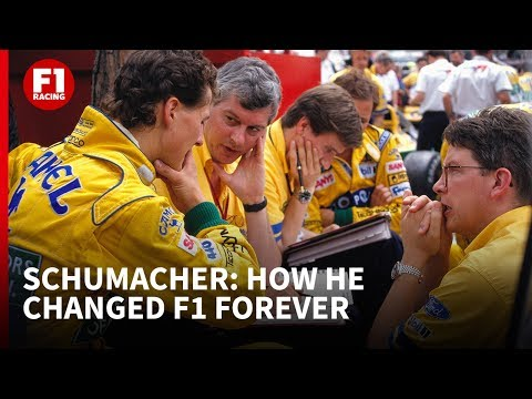 How Michael Schumacher changed F1 forever