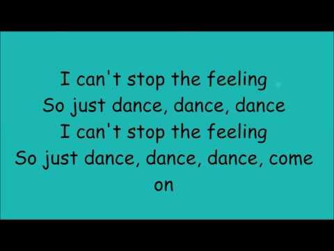 Can't stop the feeling - Justin Timberlake - lyrics
