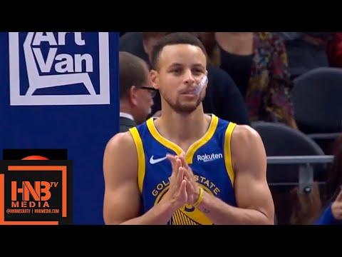 Golden State Warriors vs Detroit Pistons 1st Qtr Highlights | 12.01.2018, NBA Season