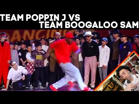 TEAM POPPIN J VS TEAM BOOGALOO SAM