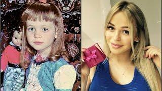 Анна Хилькевич в детстве,в юности и сейчас