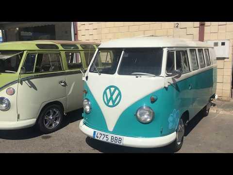 Volkswagen Party El Campello сходка ретро авто