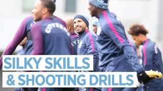 SILKY SKILLS & SHOOTING DRILLS | Man City Training