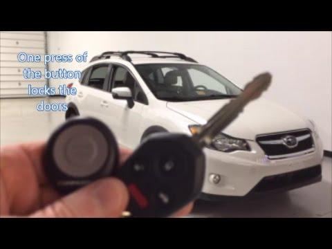 remote car starter for 2014 subaru crosstrek