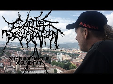 Cattle Decapitation - 2017 European Tour Documentary