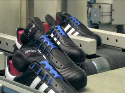 Adidas Football Boot Production