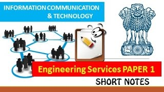 information and communication technologies ies upsc paper 1