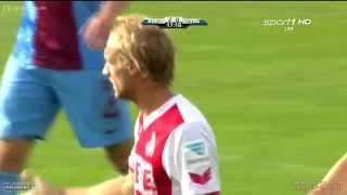 Marcel Risse Goal I FC Koln vs Trabzonspor I 2-0