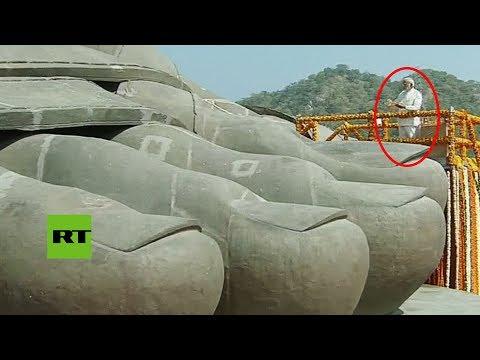 La India inaugura la estatua más alta del mundo