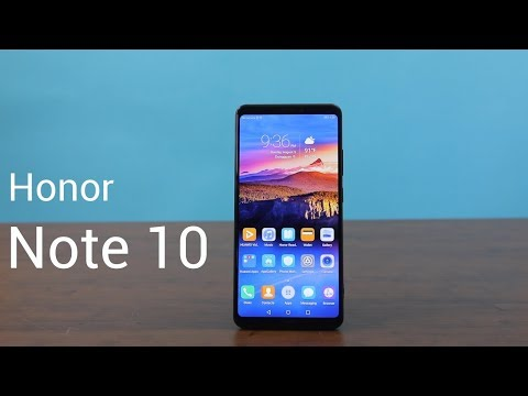 Huawei Honor Note 10 Review - a powerful phablet
