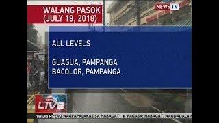 NTVL: Walang Pasok (July 19, 2018)