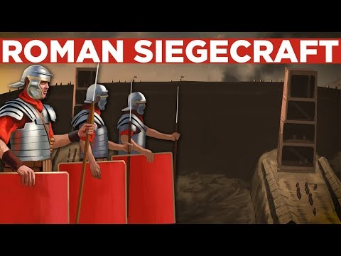 Roman Armies And Tactics: Roman Siegecraft