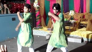Dhakar Pola dance at Gaye Holud