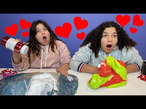 TURN THIS SLIME INTO VALENTINE'S SLIME CHALLENGE!