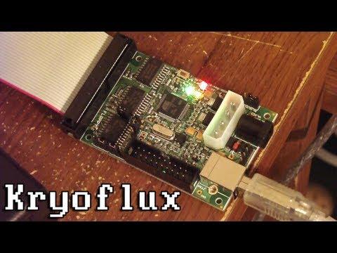 LGR - Kryoflux USB Floppy Disk Controller Overview