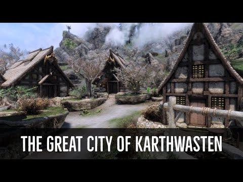 Skyrim Mods – The Great City of Karthwasten (PC & XBOX)