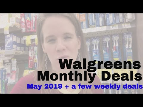Top Deals at Walgreens for May 2019 + A Few Weekly Deals to Grab Now