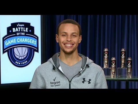 Stephen Curry Interview: NBA All-Star Weekend, John Wall & Degree