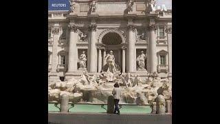 意大利罗马重新开放 市中心仍未恢复人气