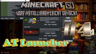 AT Launcher in Minecraft Mods installieren leicht gemacht #4 Tutorial