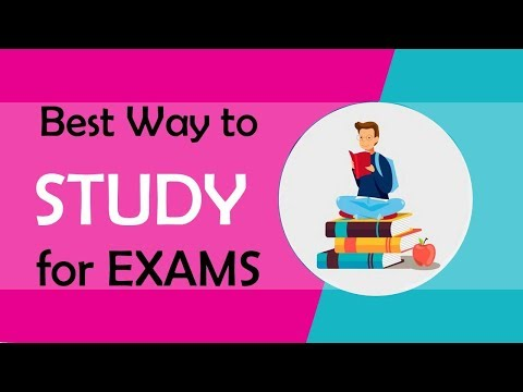 STUDY HACK : BEST way to STUDY & LEARN FASTER for EXAMS|  #ABetterlife