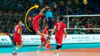 200 IQ Volleyball | Smartest Plays In Volleyball