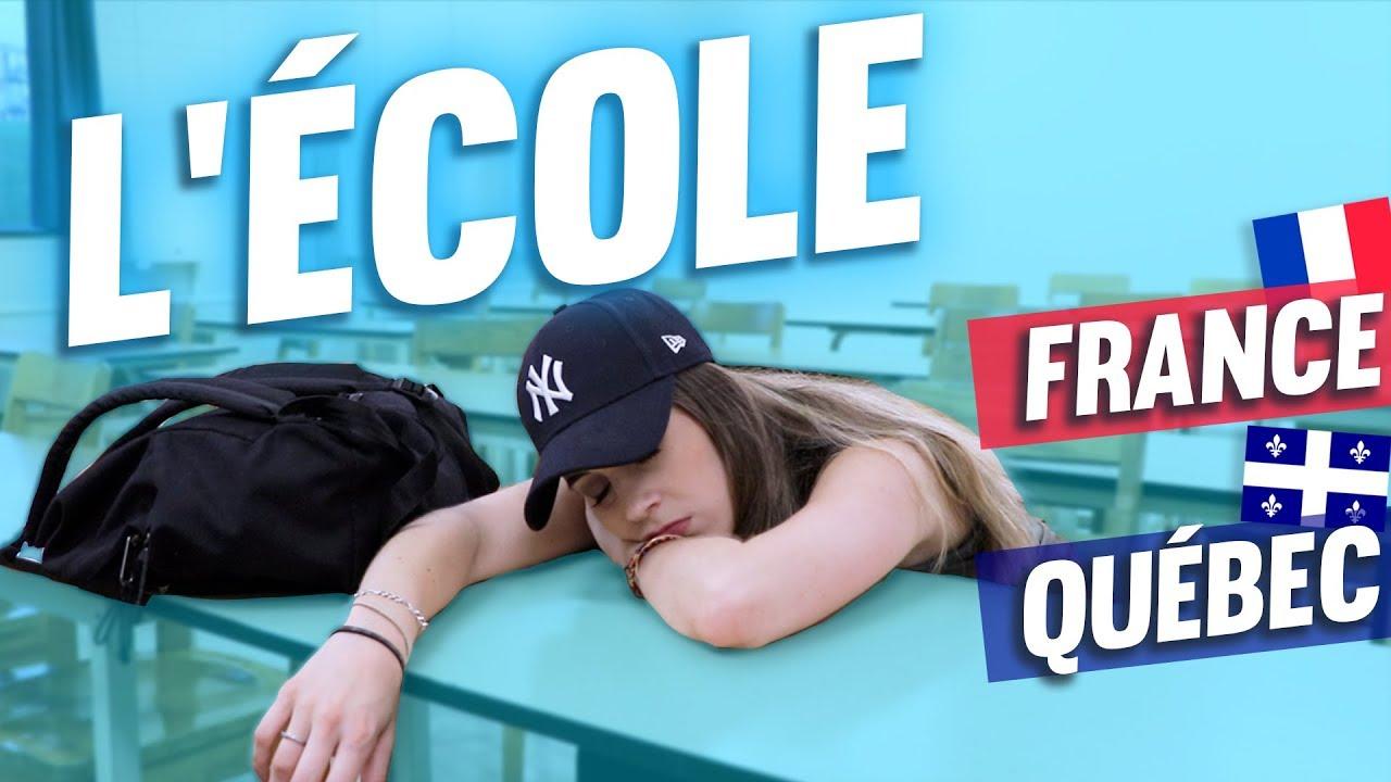 L'École Française vs Québécoise - BACK TO SCHOOL 2018   DENYZEE