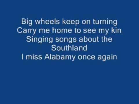 I miss 'ole' 'bamy once again. Sweet Home Alabama Lyrics Youtube