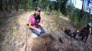 Girls and GOLD with Minelab GP 3500 metal detector
