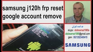 samsung j1 j120h frp reset google account remove