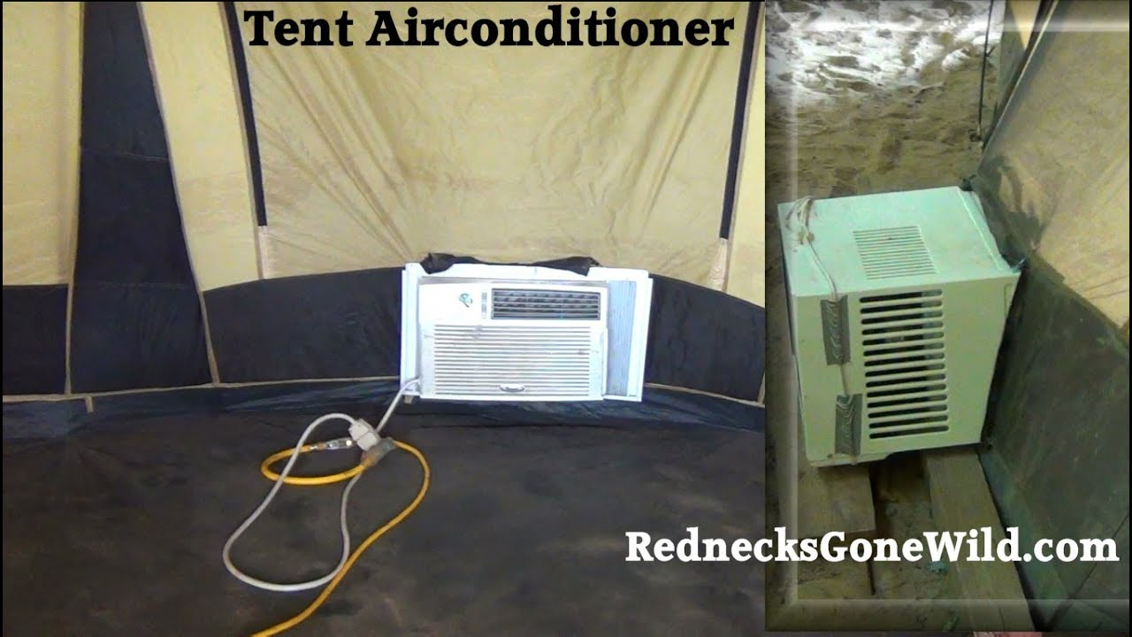 Redneck Tent Air Conditioning How To Youtube