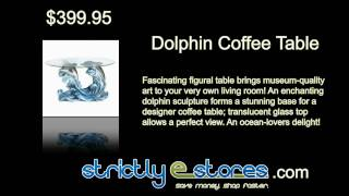 Dolphin Coffee Table /strictlyestores.com