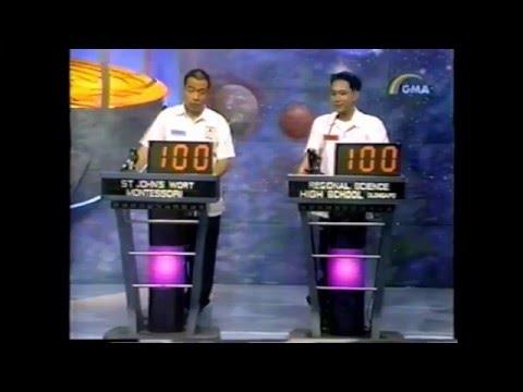 Digital LG Quiz 3rd Quarterly Finals Year 1 (2000)
