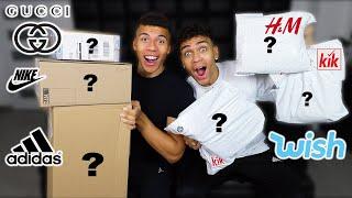 DIE OUTFIT ROULETTE SACHEN SIND DA !!! (GUCCI, KIK und mehr) | Kelvin und Marvin