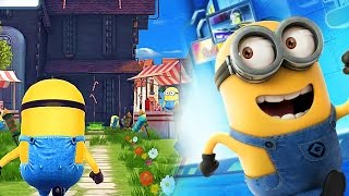 NEW RESIDENTIAL AREA UNLOCKED - Minion Rush New Stage Gameplay (IOS/ANDROID)