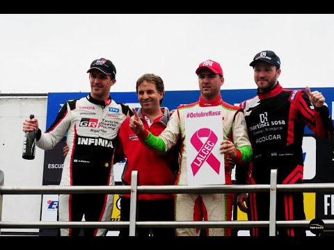 Las voces de los protagonistas del podio del Top Race en La Plata