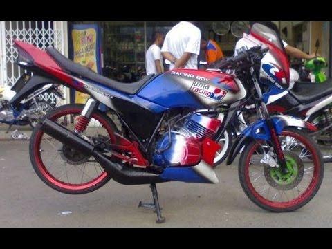 Motor Trend Modifikasi   Video Modifikasi Motor Yamaha RX Z Ceper Terbaru