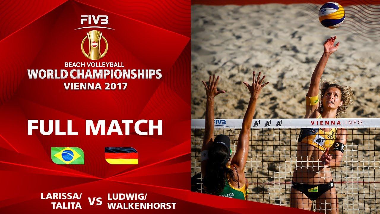 Larissa/Talita vs. Ludwig/Walkenhorst - Semifinal | Beach Volleyball World Champs Vienna 2017