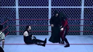 Smackdown vs. Raw 2011 - Masked Kane vs. Druid vs. Ministry Undertaker (part 1)