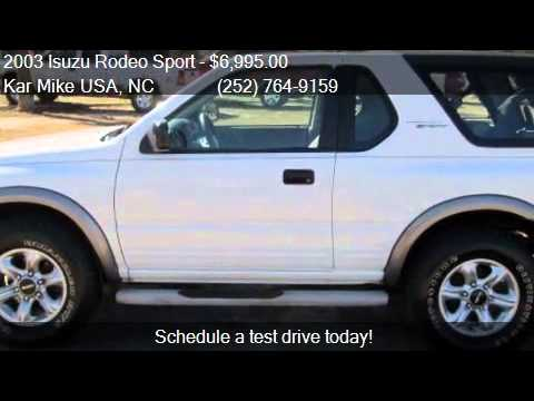 2003 Isuzu Rodeo Sport S V6 Hard Top 2dr Suv For Sale In