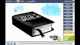 How to draw the Holy Bible