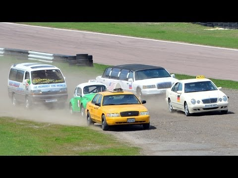 TOP GEAR's International Taxi Race: Great Moments with RICHARD HAMMOND - BBC America