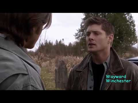 Supernatural 5x22 Sam Beats Lucifer & Takes Him & Michael Hell Cagev