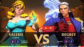 "Simple Fighting Game ""Fantasy Strike"" GamePlay 01"