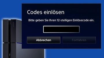 PS4 - Codes einlösen und im Store gekaufte Spiele downloaden