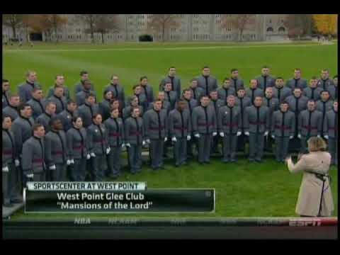 West Point Glee Club: Mansions of the Lord ,Veteran's Day, November 11, 2009 (ESPN)