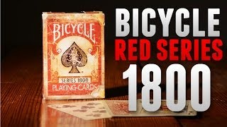 Deck Review - Bicycle Series 1800 Playing Cards Red