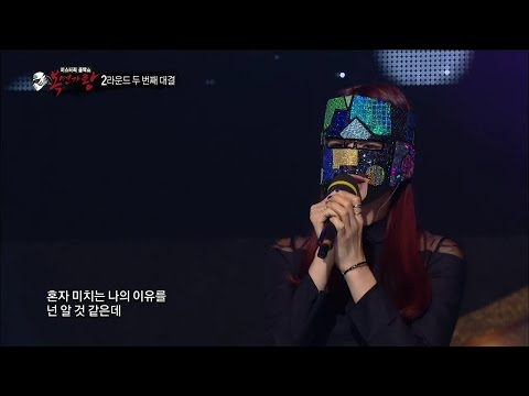 【TVPP】Solji(EXID) - The Reason I Became A Singer, 솔지(이엑스아이디) - 가수가 된 이유 @ King of Masked Singer